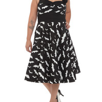 Hell Bunny Bat Dress 2XL-4XL