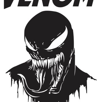 Venom vectors for sublimation silhouette cameo vinyl serigraphy and more, svg, eps, cdr, studio3 instant download