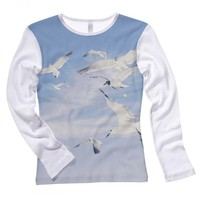 Seagull Long Sleeved Top