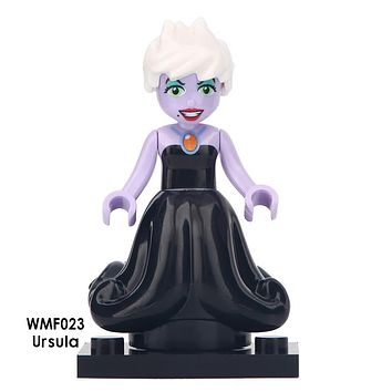 Custom Builder Block Minifigure Disney Princess Ursula