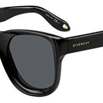 Sunglasses Givenchy Gv 7074/S 0807 Black/IR gray blue lens