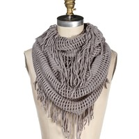 Fringe Multi-Way Scarf