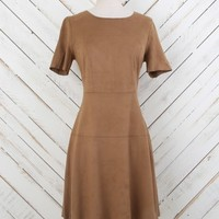 Altar'd State Suede Swing Dress | Altar'd State