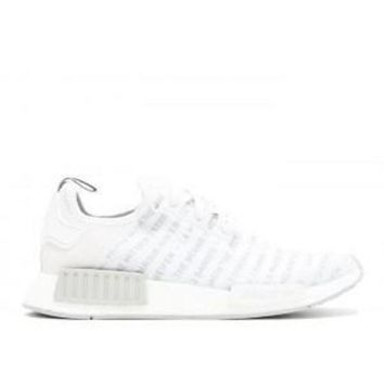 CREYGE2 Beauty Ticks Adidas Nmd R1 Three Stripes White Black Sneakers Sport Running Shoes