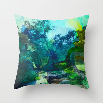 No Relief Throw Pillow by DuckyB (Brandi)