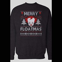 "PENNYWISE ""MERRY FLOATMAS UGLY CHRISTMAS HOLIDAY SWEATER"