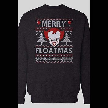 """PENNYWISE """"MERRY FLOATMAS UGLY CHRISTMAS HOLIDAY SWEATER"""
