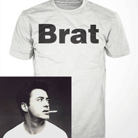 Brat T-Shirt - robert downey jr tshirt, funny celebrity tee shirt, mens, womens, gift,  movie, humor, iron man, vintage, baby, spoiled