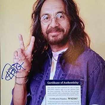 Tommy Chong Signed Autographed Glossy 8x10 Photo (PSA/DNA)