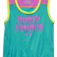 Girl's Under Armour Muscle Tank,
