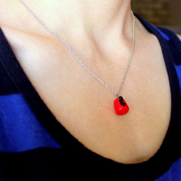 Doctor Who Fez Necklace, Doctor Who Charm, Doctor Who Gift