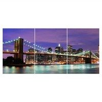 New York Panoramic Wall Art - Peel N Stick Dorm Wall Decor Decorations Adhesive Pretty Cool Vibe