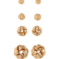 4-pack earrings - from H&M