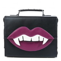 Current Mood Beautevil Lips Bag | Attitude Clothing