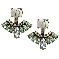 Crystal Double Sided Earring Jackets