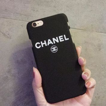 CHANEL phone case shell for iphone 6/6s,iphone 6p/6splus,iphone 7/8,iphone 7p/8plus