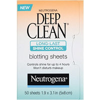 Neutrogena Deep Clean Long-Last Shine Control Blotting Sheets Ulta.com - Cosmetics, Fragrance, Salon and Beauty Gifts