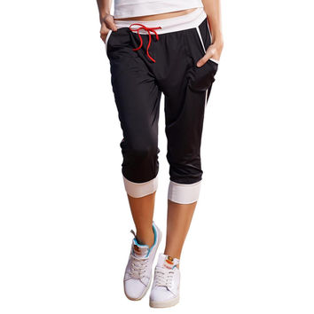 Lefan Workout clothes free shipping pants jogging pants square dancers Factory Direct 3407