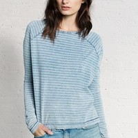 Rag & Bone - Camden Long Sleeve Tee, Indigo