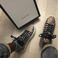 Gucci Fashion Casual Shoes Snake-12