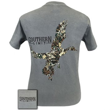 Southern Limits Lock Em Up Camo Duck Bird Comfort Colors Unisex T-Shirt