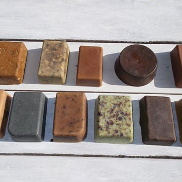 Set of 5 soaps Choose any 5 bars Handmade Soap Custom 5 pack Fast Shipping with FEDEX Free gift wrapping Natural handmade soap