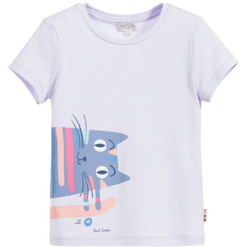 Paul Smith Junior - Girl Lavender Lorina T-Shirt