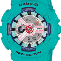 BA110SN-3A - Baby-G Blue - Womens Watches | Casio - Baby-G