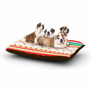"Famenxt ""Watermelon Arrows and Colors"" -Tags Dog Bed"