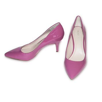 BCBGeneration High Heel Pump, Pink Patent Leather