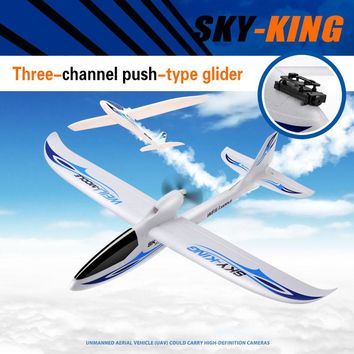 WLtoys RC Plane HD Camera EPO High Speed 3CH RC Radio Control Planes Glider Shockproof Model Airplane Ready to Fly RC Toy