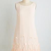 Mid-length Sleeveless Shift Enchanted Romance Dress
