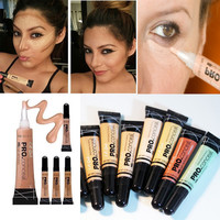 Brand Pro HD Concealer Profession Waterproof Face Corrector  High-Definition Girl Contour Stick Pencil Base Maquiagem