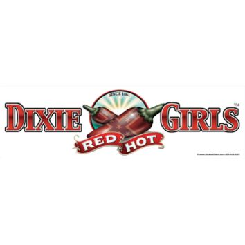 Dixie Girls Red Hot Bumper Sticker by Dixie Outfitters®