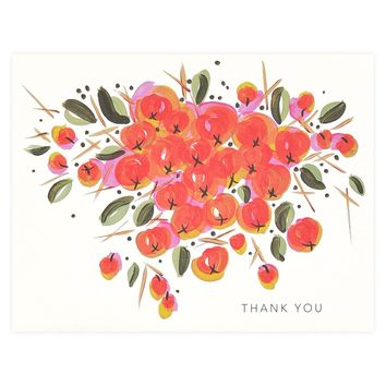 Art Print No.4 Folded Thank You Cards Boxed