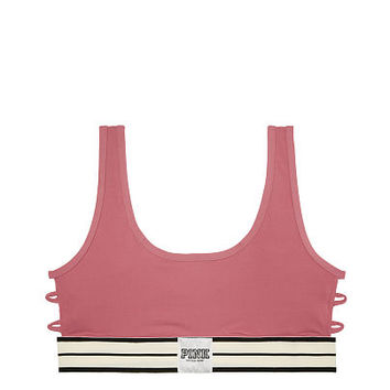 Ultimate Strappy Side Sports Bra - PINK - Victoria's Secret