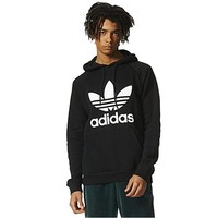 BLACK Womens Mens adidas Sweater Hoodie