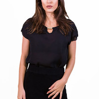 Boss Lady Top Black