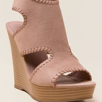 Katy Whipstitch Wedge