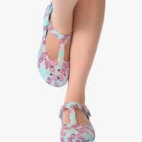 Cute Hello Kitty Jelly Blue Sandals