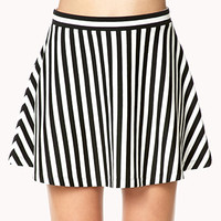 Must-Have Striped Skater Skirt