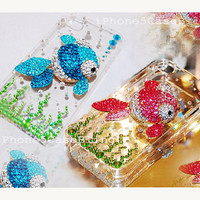 iPhone 5C case,  iPhone 5 case, iPhone 4 case, Bling iPhone 5C case, Cute iPhone 5C case, Cute iphone 5 case, 3D iphone 5 case goldfish