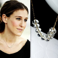 Sex In The City Carrie Bradshaw's Paris Necklace by 80sHipster