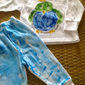 Cotton Diaper Pants - Hawaiian Baby Gifts - Baby Gifts Hawaiian - Hawaii Baby - Kauai Baby - Hawaii Baby Shower