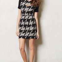 Anthropologie - Exploded Houndstooth Shift