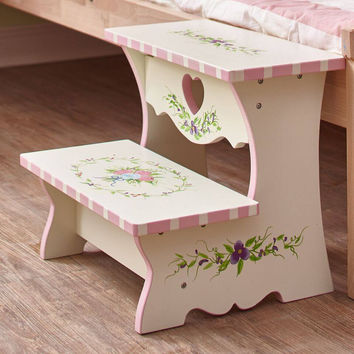 Fantasy Fields - Bouquet Step Stool