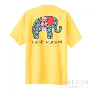 Preppy Elephant | Lakeside Cotton