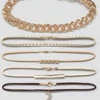 DesignB London Luxe Layering Chokers
