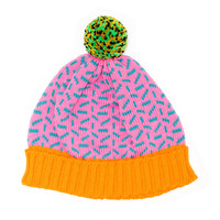 NEW! Confetti Hat Pink
