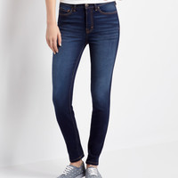 Aeropostale  Seriously Stretchy High-Waisted Dark Wash Ankle Jegging